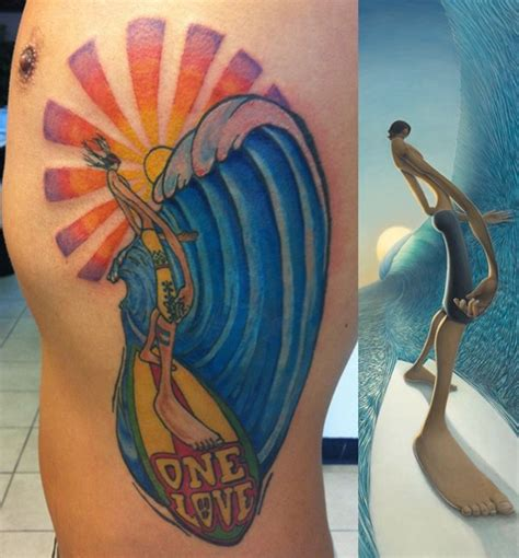 surfer tattoos 40 cool surf designs and ideas for you i luve sports