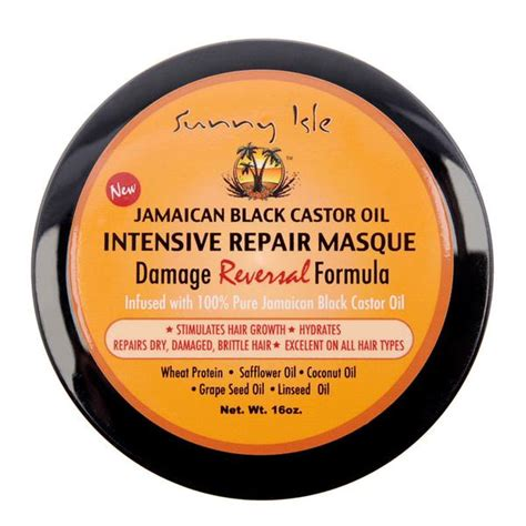 Isle Jamaican Black Castor 100 Original Ready 1 isle jamaican black castor intensive repair masque 16oz exoticglobalproducts