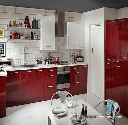 cooke and lewis kitchen cabinets 17 best images about contemporary red gloss kitchens on