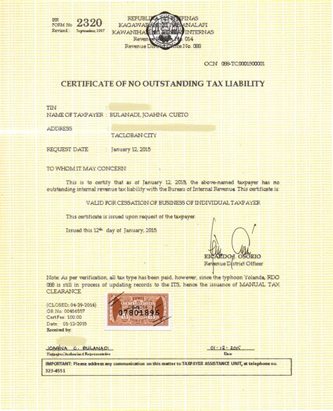 Letter Of Closing Business To Bir request letter for business closure bir how to write a