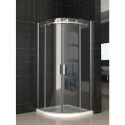Sliding Shower Bath Screen Parisi 800 X 800 X 1950 Semi Frameless Curved Sliding Door