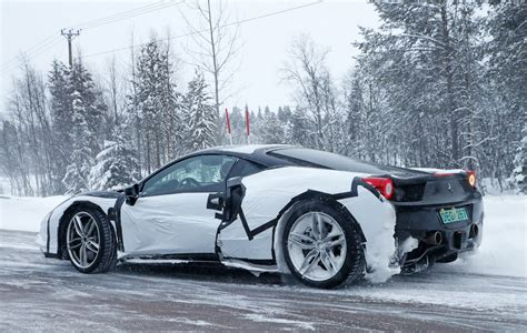 newest ferrari latest ferrari mule spotted reignites our hopes for a new