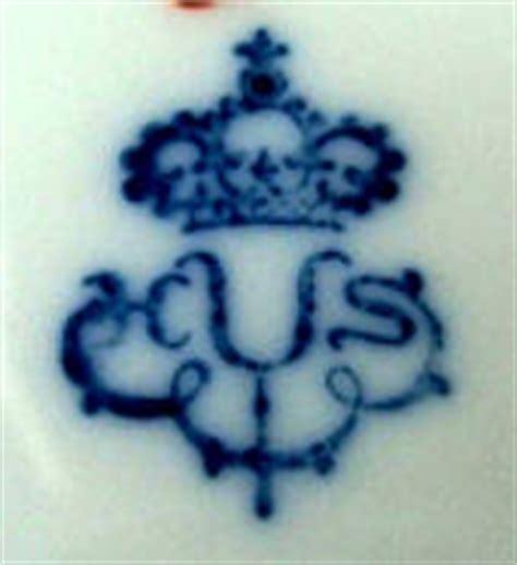 Porzellanmarken Krone W by Porzellanmarken Bestimmen Mit Der Sammler