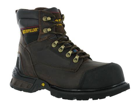 cat steel toe boots for mens cat caterpillar spartan ff s3 oak steel toe cap