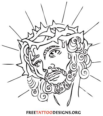 jesus tattoo template data clip for powerpoint data free engine image for user