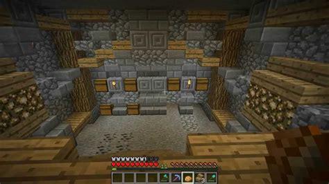 how to make a underground room let s play survival minecraft episode 23 underground storage room