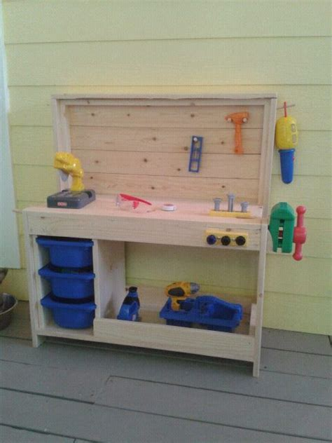 diy kids work bench 25 best ideas about kids workbench on pinterest kids