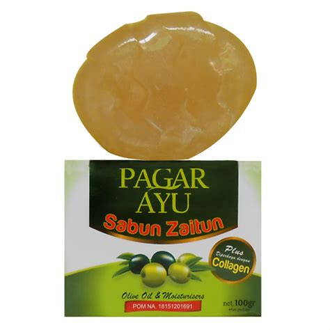 Sabun Colagen sabun collagen zaitun pagar ayu mutiara herbal