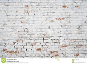 How To Paint Over Faux Wood - cracked white grunge brick wall textured stock image image 42395343