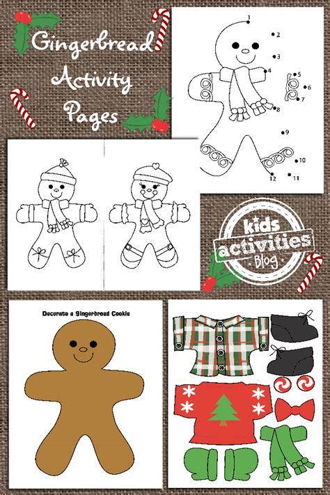 gingerbread man printable reader christmas coloring pages have been released on kids
