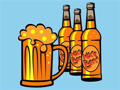alcohol vector drinking beer vector art graphics freevector com