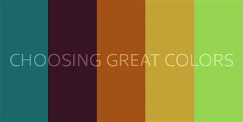 great color schemes choosing great colors for your brand or website zoda