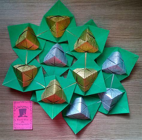 Origami Natal - guirlanda de origami natal origamei est 250 dio de