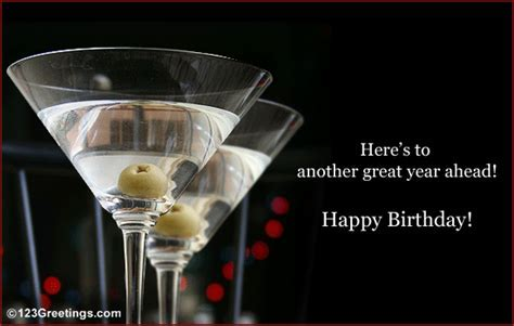 A Birthday Toast! Free Happy Birthday eCards, Greeting