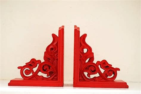 red cherry red book 33 best images about wooden bookends diy on book stands cherries and vintage wood