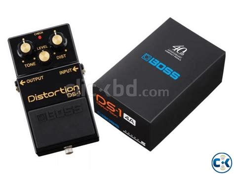 Ds 1 40th Anniversary ds 1 40th anniversary limited edition distortion pedal clickbd