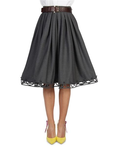 22 luxury skirts for knee length playzoa