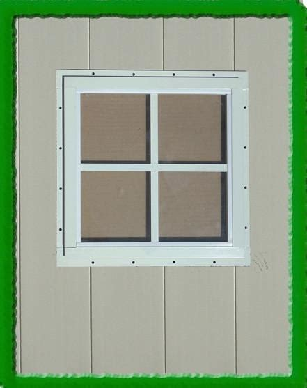 square shed window shed parts