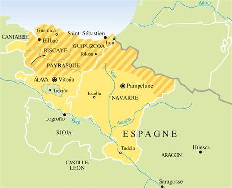 Infos sur : carte pays basque espagne Arts et Voyages