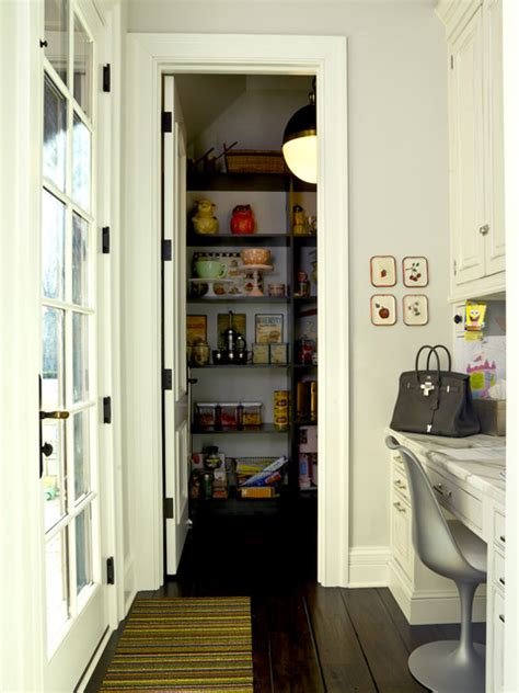 Custom Built Pantry by Country Custom Built Pantry With Desk Next To