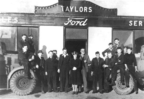 Taylors Garage by The Invergordon Archive Taylors Garage