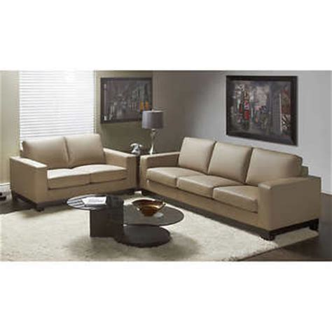 cortina sofa cortina mushroom top grain leather sofa and loveseat