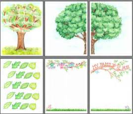 Family Tree Scrapbook Templates by Printable Family Tree Scrapbooking From Scrapbookscrapbook