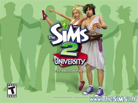 the sims the sims 2 university the sims 2 wallpaper 815280 fanpop