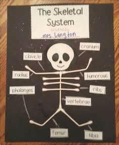 q tip skeleton craft template 1000 ideas about skeleton craft on
