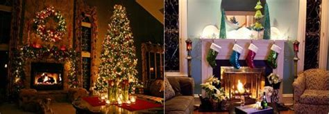 inside homes decorated for christmas christmas decorating ideas