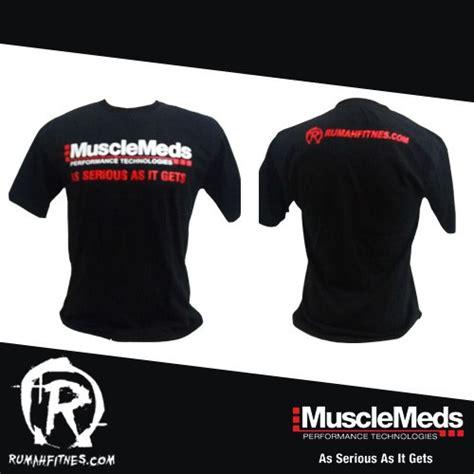 Harga Clear Muscletech t shirt musclemeds kaos musclemeds