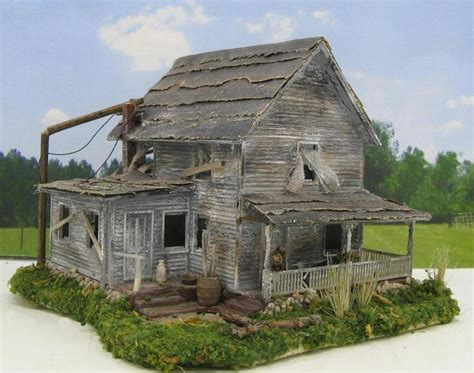 haunted house diorama flickr photo sharing 374 best ho scale model train buildings images on