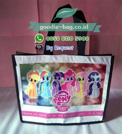 Tas Ultah Model Resleting Banner Hello 2 tas ultah anak my pony tas ulang tahun anak my