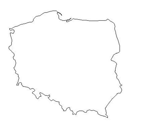 geography blog poland outline maps