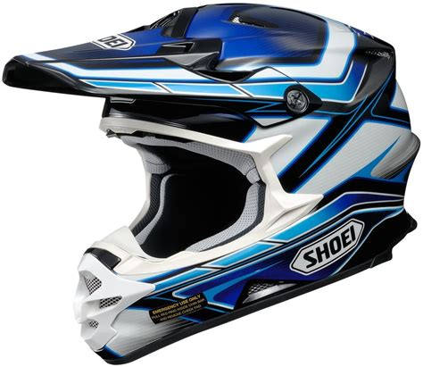 shoei motocross helmets closeout 424 31 shoei vfx w capacitor dot approved motocross mx