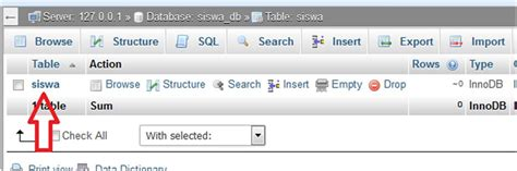 cara membuat foreign key di mysql phpmyadmin cara membuat database dan tabel mysql di xampp dengan