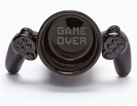 NerdyMugs.com   Gamer Mug ? Controller handle ? Game over