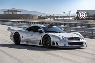 Mercedes Gtr Stunning Mercedes Clk Gtr With Satin Black Hre Wheels
