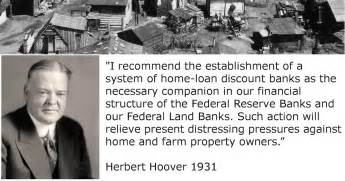 federal home loan bank act 1931 herbert hoover federal home loan bank act state