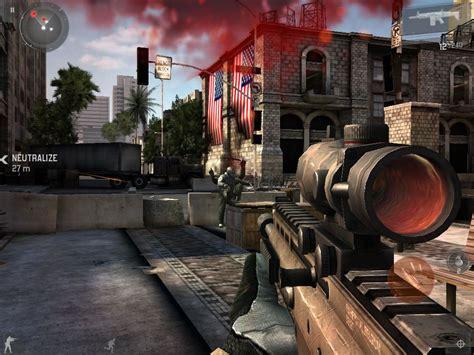 Gamis Combad modern combat 3 next generation ios gaming