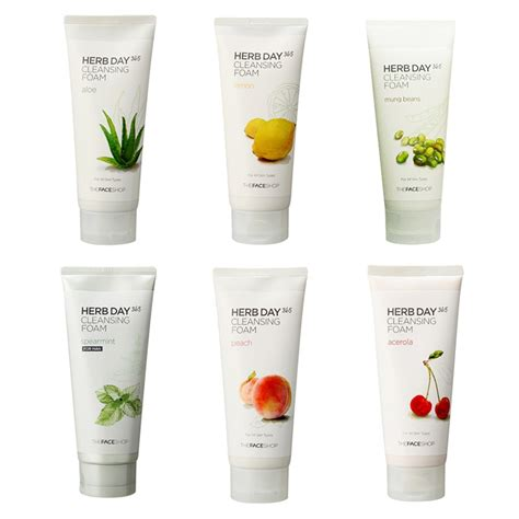 Jual The Shop Herb Day 365 Cleansing Foam the shop herb day 365 cleansing foam 170ml