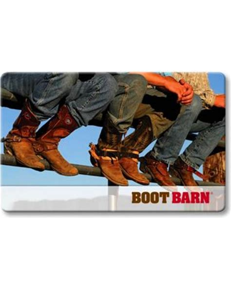 boot barn boot barn gift card boot barn