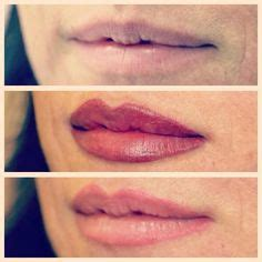 eyeliner tattoo bali before and after picture of lip liner tattooed on after