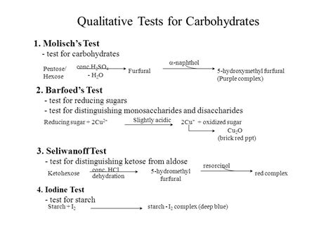 carbohydrates test identification of unknown carbohydrates by dr mohammed