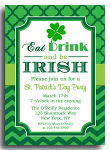 st s day invitation printable or printed with free shipping eat drink and be by