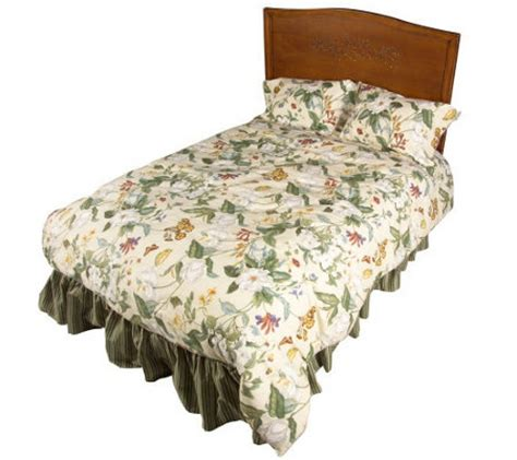 garden images comforter set waverly garden images reversible comforter set qvc