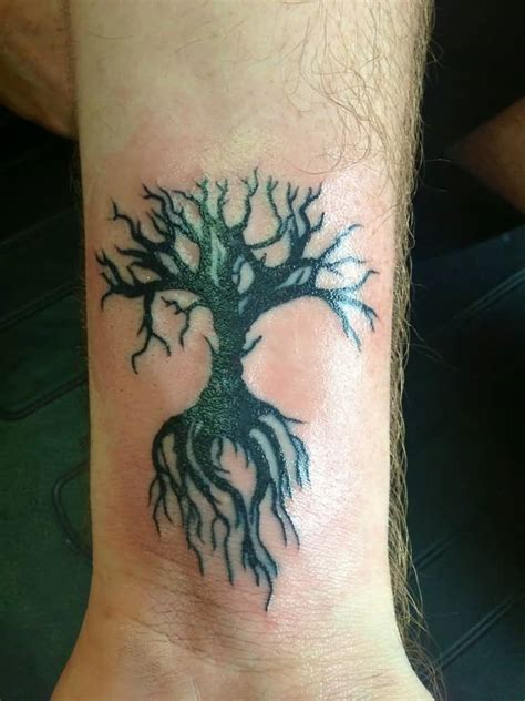 wrist tree tattoos tree wrist designs ideas and meaning tattoos for you