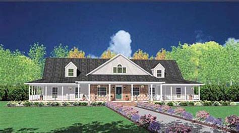single story farmhouse plans