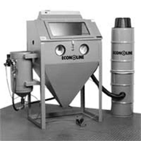 Pressure Pot Sandblaster Cabinet by Econoline Built To Blast Built To Last