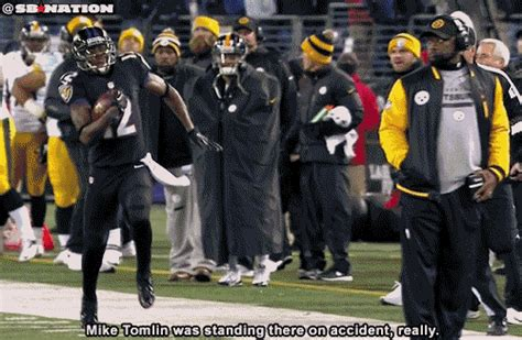 pittsburgh steelers coach trips player terrell suggs wears shirt to troll mike tomlin